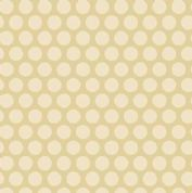 Makower UK - Something Blue - 6058 - Spots in Cream & Beige - 8831_N - Cotton Fabric